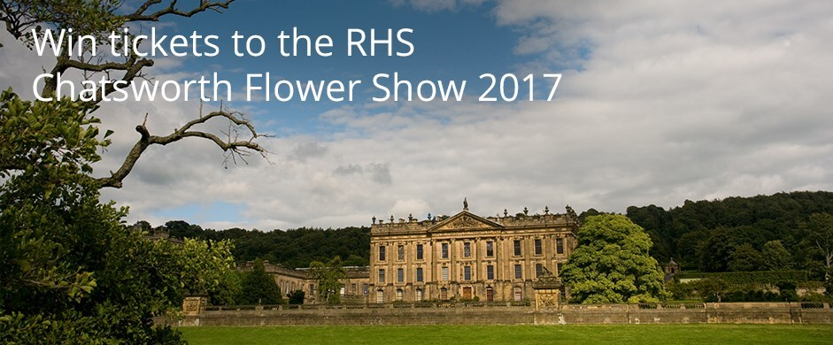 Win tickets to the RHS Chatsworth Flower Show 2017
