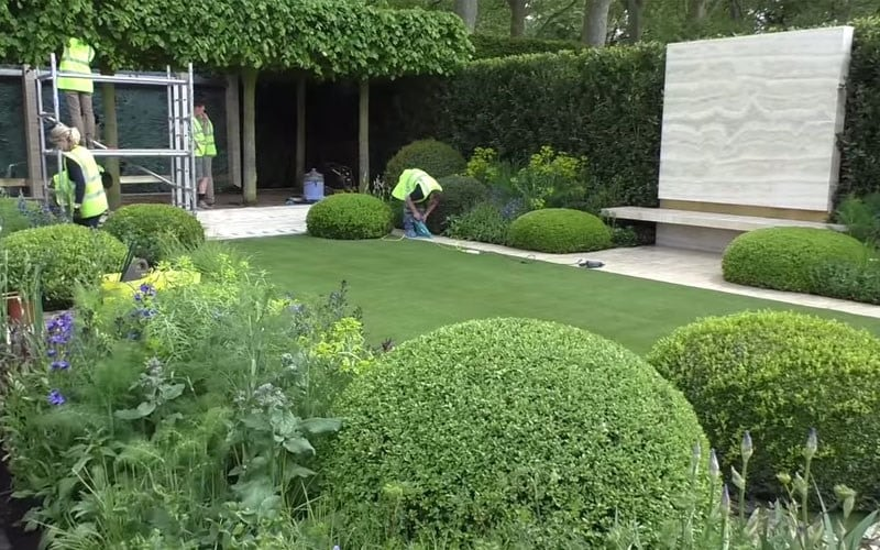 The Telegraph garden at Chelsea 2014 Day 15