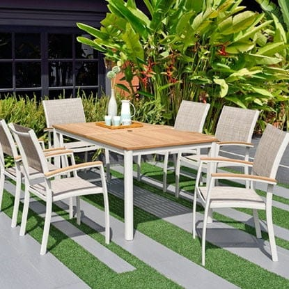 Entertain garden guests in style