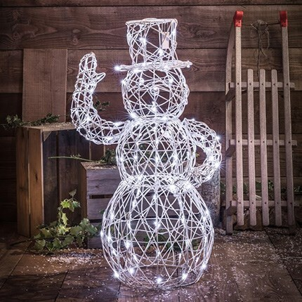 Create a winter wonderland with Christmas lighting