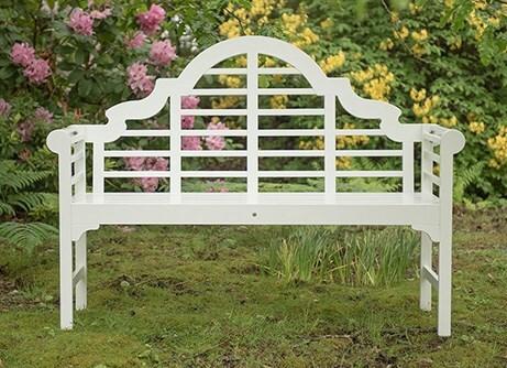 Lutyens Bench - White