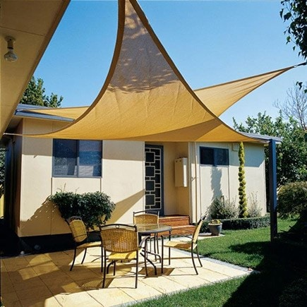 Shade awnings & sails