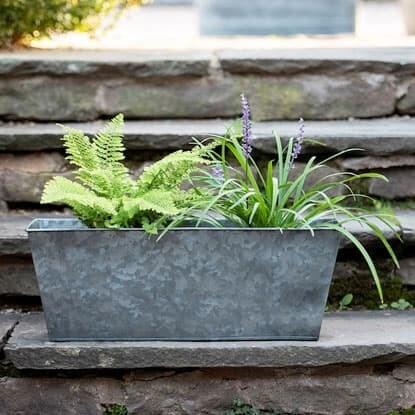 Garden without plastics