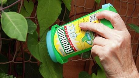 Glyphosate gel