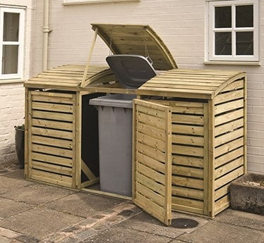Bin and log storage