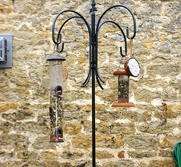 Selected Bird feeders