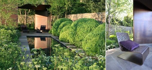 Tom Stuart Smith's garden for Laurent Perrier