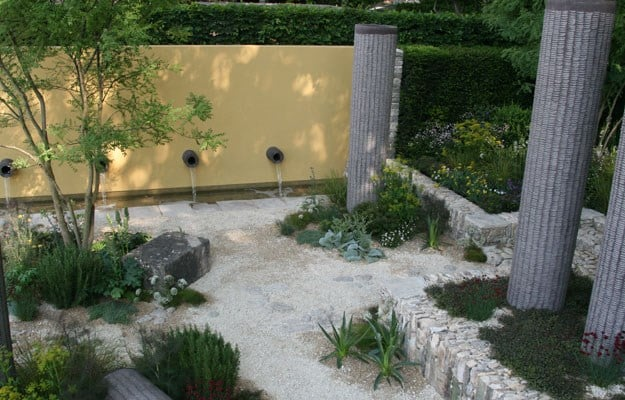 Luciano Giubbelei's garden for Laurent Perrier
