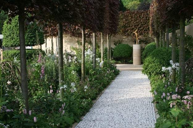 Arne Maynard's garden for Laurent Perrier