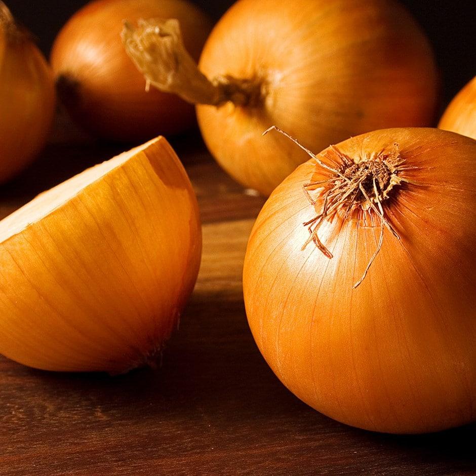 yellow flat onion sets
