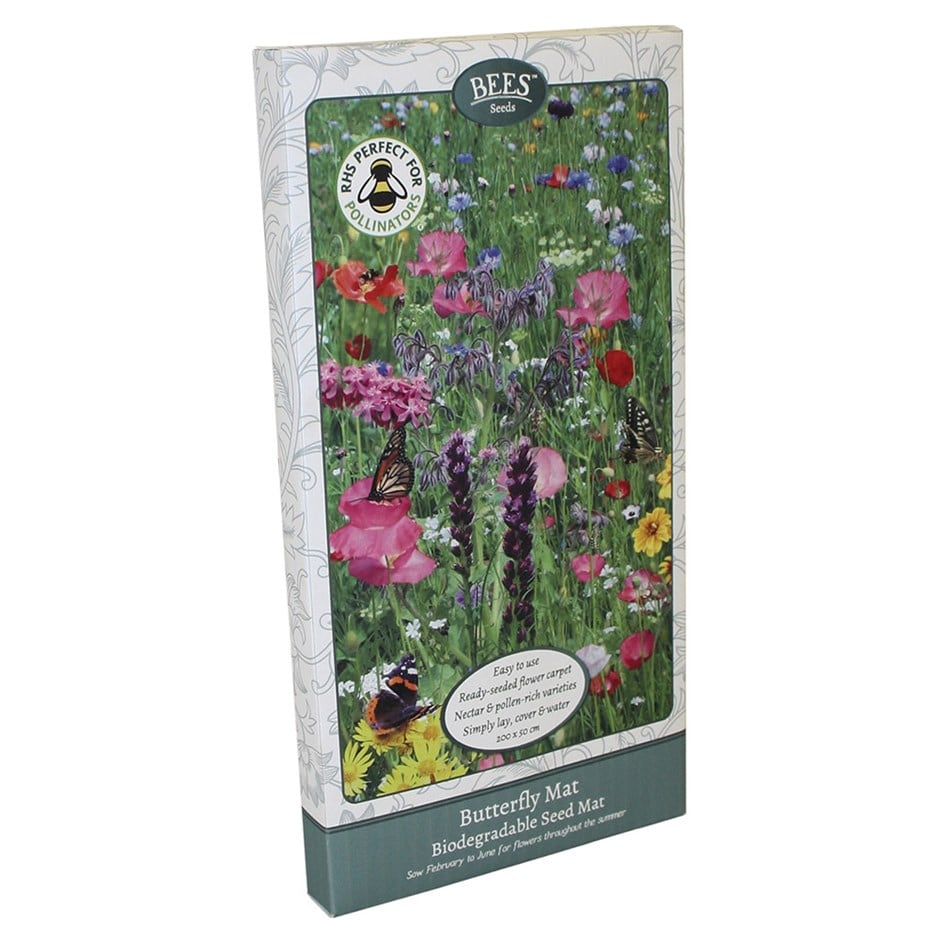 Buy Bees Seeds Seed Mat Butterfly Mat Seed Carpet 11 99 Delivery By Crocus