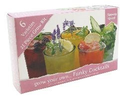 Grow your own funky cocktails kit