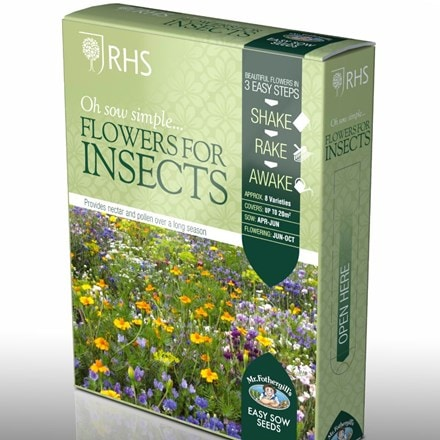 Shake and sow Flowers for insects