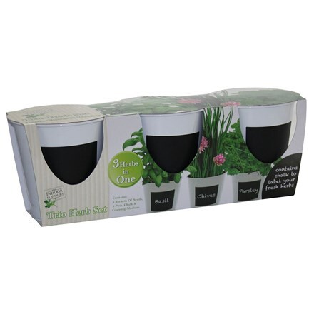 Trio herb grow set