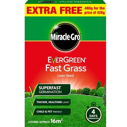 Miracle-gro fast grass seed