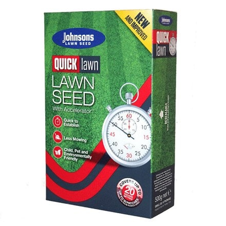 Johnsons Quick lawn seed