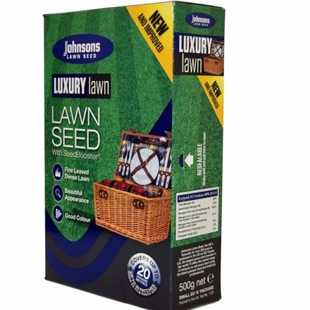 Johnsons Luxury lawn seed