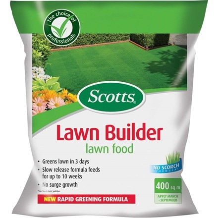 Scotts evergreen lawn builder 8kg (400 sq m)