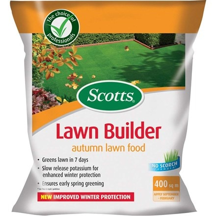 Scotts evergreen autumn lawn builder 8kg (400 sq m)