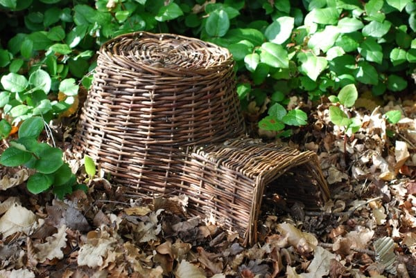 Buy Wicker Hedgehog House Delivery By Crocus