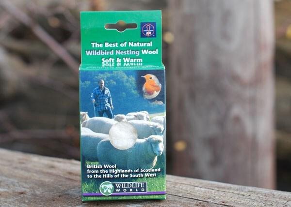 Wool refill - bird nesting material