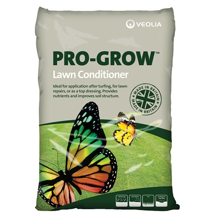 Veolia Pro-Grow lawn conditioner - 25 litre bags multi-buy