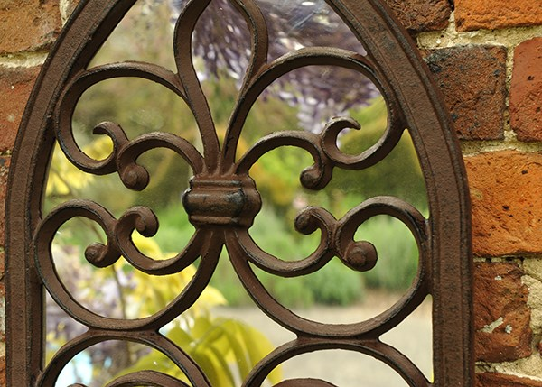 Gothic wall mirror