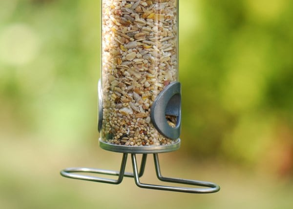Squirrel-proof seed feeder
