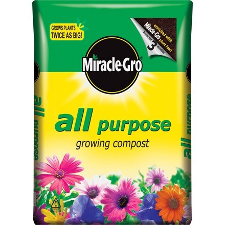 Miracle-Gro all purpose compost - 8 bags