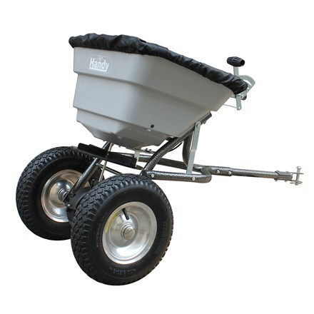 Handy seed / fertiliser spreader - 36kg towed