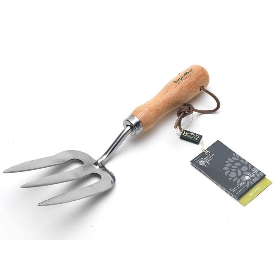 RHS Burgon and Ball hand fork