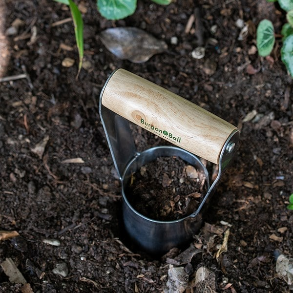 RHS Burgon and Ball hand bulb planter