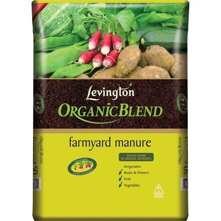 Levingtons organic farmyard manure -10 bags