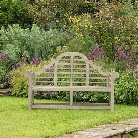 Grande lutyens bench weathered