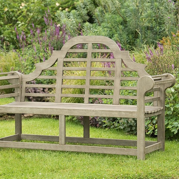 Buy Grande Lutyens Style Bench Weathered