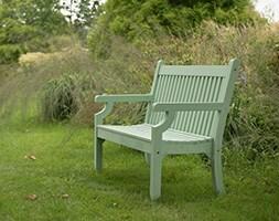Milton bench green