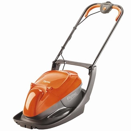 Flymo easy glide 300 electric hover collect lawn mower