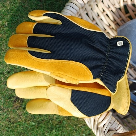 RHS gold leaf winter touch gloves - mens/ladies
