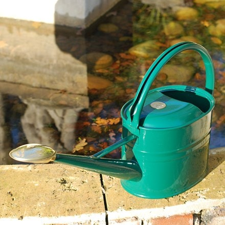 Haws green 5 litre watering can