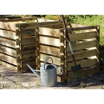 Compost box  - FSC timber