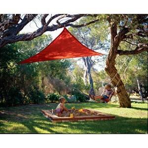 Coolaroo 3m triangle party shade sail