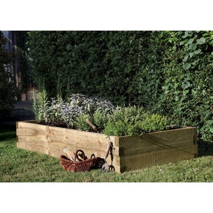 Large caledonian raised bed