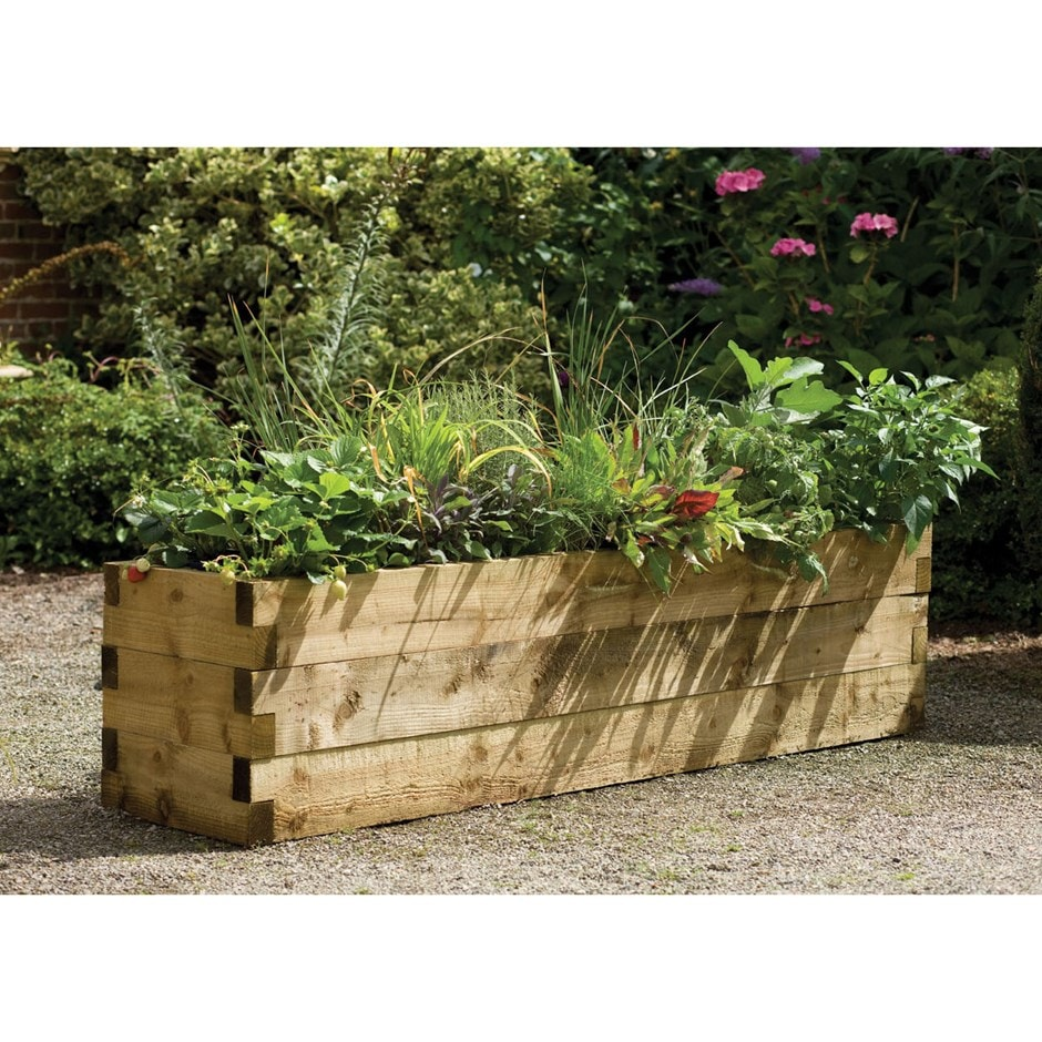 Buy Narrow Caledonian Raised Bed: Delivery By Crocus