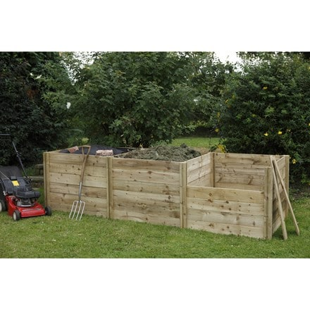 Slot down compost box extension kit