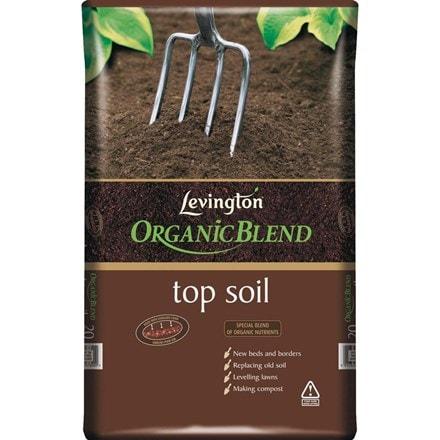 Levington organic top soil - 15 bags