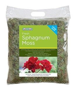 Gardman fresh sphagnum moss
