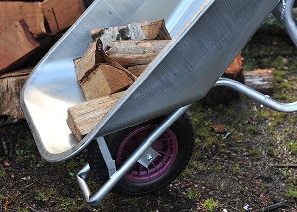 Galvanised carrier wheelbarrow