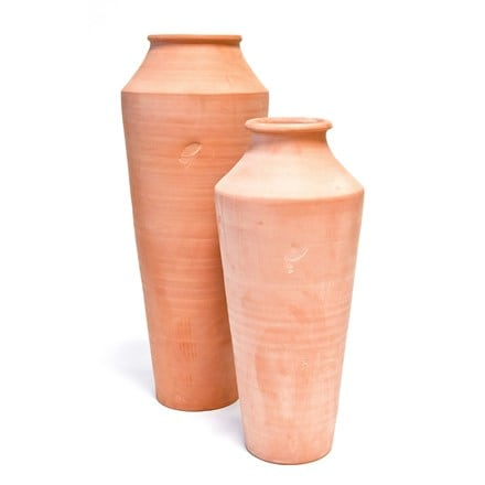 Terracotta oil pot