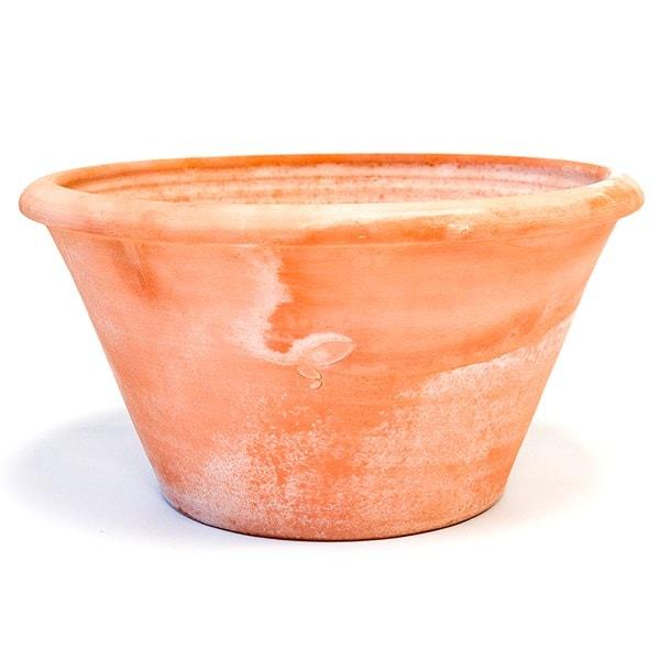 Terracotta arc pot
