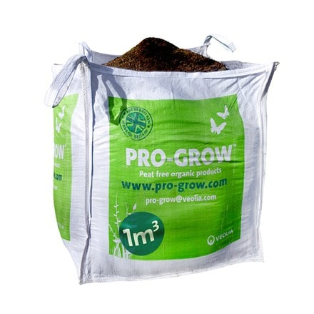 Veolia Pro-grow peat free soil conditioner bulky bag - 1 cubic metre